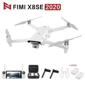 Orijinal Fimi X8 SE RC Drone 3AXIS GIMBAL 8 K Kamera Quadcopter RTF Helikopter HDR GPS Konumlandırma FPV 33min Uçuş X8 Çanta 201031