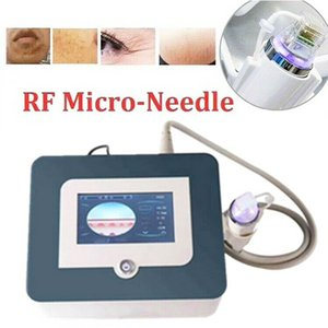 Mini Fractional RF Face Lift Device Microneedle RF Facial Beauty Machine Microneedling Acne Treatment Scar Stretch Mark Removal