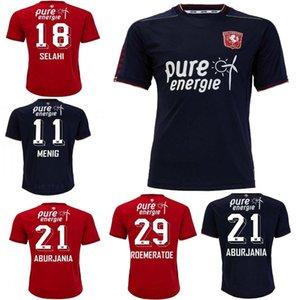 20 21FC Twente Jersey 2020 2021 Home Away Danilo Menig Cerny Selahi Julio Pleguezuelo Homens Futebol Shirts Uniformes