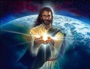Nathan Greene Light of the World Jésus-Christ Home Decor Pays Pays HD Pref imprimer Peinture à l'huile sur Toile Art Art Toile Photos 200