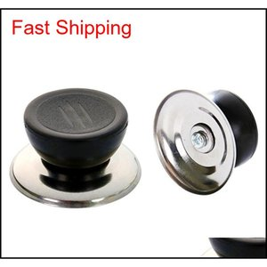 Universal Pan Pot Lid Cover Kitchen Cookware Replacement Lid Cover Hand Grip Knob Handle Cover Ki qylhoT homes2011