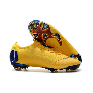 98-2014 World Cup Mens Low Ankle Football Boots Mercurial Vapor VII Elite FG Soccer Shoes CR7 Superfly VI 360 Neymar ACC Soccer Cleats