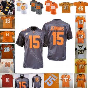 Individuelle Tennessee Volunteers Football Jersey NCAA Peyton Manning Brandon Johnson Jarrett Guarantano Ty Chandler Eric Grey Josh Palmer