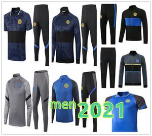 2020 2021 Futbol Eşofman Ceketler Kitleri Polo Gömlek 20/21 Survetement Alexis Lukaku Lautaro Futbol Eğitim Takım Eşofman Ceket Seti