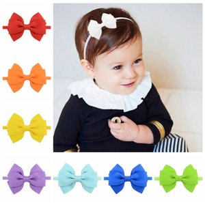 10Pcs Baby Girls Toddler Kids Flower Bow Headband Hair Band Accessories Headwear