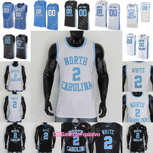 NCAA North Carolina Tar Heels Basketball Jersey Cole Anthony Garrison Brooks Coby White Fuite Black Armando Bacot Francis 50 Hansbrough