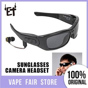 Gafas de sol Mini Soporte para la cámara de tarjetas TF Video Recorder HD1080P Bluetooth MP3 Cámara Música Vidrios con la Auricular Bluetooth H3