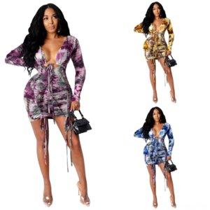 9LXH Sexy Twodress Mulheres Nightclub Saia Nova Cor Cinza Metálico Sexy Dress Sexy Mulheres Colete Dois Torta Festa Formal Vestido Formal e Saia Halloween