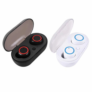 A2 TWS Kablosuz Kulaklık Bluetooth Kulaklık Mini Kulaklıklar 5.0 Stereo Kulaklık Perakende Kutusu ile Taşınabilir Şarj Kutusu