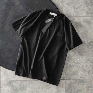 20SS Ton Erkek Gömlek Moda Tshirts Erkekler ve Kadınlar Kısa Kollu Üst Tees Gömlek Erkek Giyim 3 Renk Asya Boyut M-2XL Tops