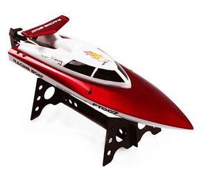 HIINST FEILUN FT007 2.4 جرام قوارب التحكم عن بعد قارب كهربائي الطعم تبريد عالية السرعة سباق البلاستيك الأحمر الأصفر rc الصيد قارب Z3