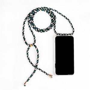 Strap Cord Chain Tape Necklace Lanyard Mobile Phone Case Carry to Hang for SAMSUNG S8 S9 S10 Note9 A50 A70 A7 A8 A9