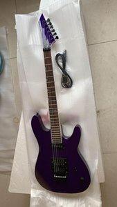 atacado personalizado roxo 6 cordas espmodel qualidade de luxo elétrica top guitarra M-II, frete grátis