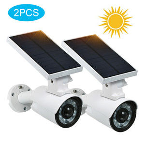 Outdoor Video Surveillance LED Solar Security Lights with Motion Sensor IP66 Waterproof Adjustable Solar Motion Lights