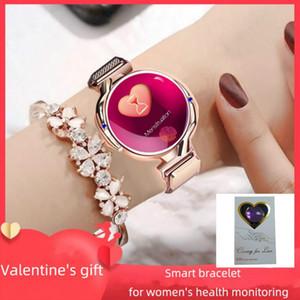 Fashionable Women Smart Watch Z38 Bluetooth Healthy Waterproof Heart Rate Blood Pressure Monitor Smartwatch Gift For Ladies Watch Bracelet