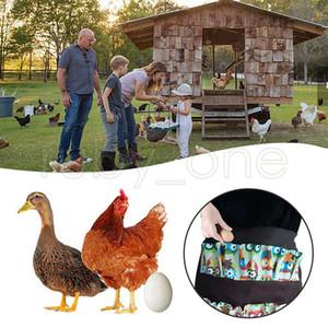 Tasche uova raccolta raccolta grembiule grembiule pollo agricolo da lavoro grembiuli trasportare anatra oca uovo raccolta agricoltura grembiule da cucina grembiule rra3654