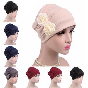 Frauen Turban Hat Lady Cancer Chemo Haarausfall Cap Kopf-Schal-Verpackungs-Abdeckung