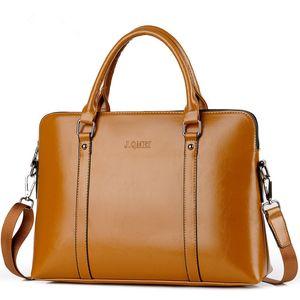 Briefcase Men shoulder Bag Business Male 14inch Laptop Tote sling women office female messenger notebook portfolio Hand bags