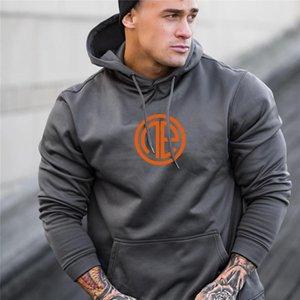 Men's Fashion fitness coat Singlets Sweatshirts Mens Hoodies Stringer Bodybuilding Fitness Shirts Suitable For Autumn