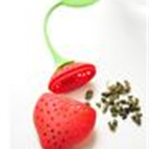 Silicone filler bag Strawberry shape silicon tea infuser strainer