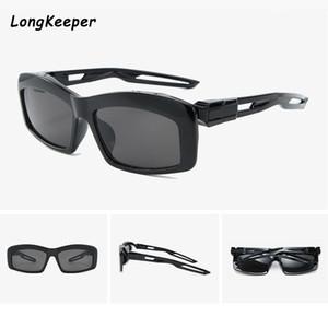 Fashion Hollow out Punk Sun glasses Men Small Rectangle Steampunk Sunglasses Brand Design Women Shades Street shot Oculos