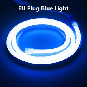 1 8m Ac220v Flexible Led Strip Neon Tape Smd 2835 Soft Rope Bar Light 120leds M Lamp Tube Outdoor Waterproof Light Eu Adapter Swy sqcnsd