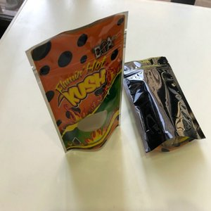 Flamin Hot Kush Resealable Leere Mylar Taschen leeren Tasche Lokale Edibles Verpackung Mylar Taschen wmtaRH bdesybag