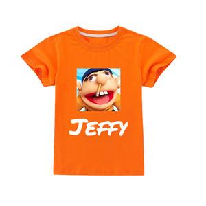 Dos Desenhos Animados Jeffy Crianças T-shirt Verão Adolescente Adolescente Roupas Para Rapaz Roupas Da Criança Fashion Camiseta Crianças Tees