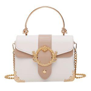 Luxury Handbags Women Bags Designer PU leather Small Flap Purses For Girls New Summer Chain Shoulder Messenger HandBags Sac 201006