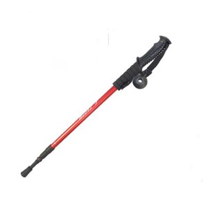 Aluminum alloy stick stick for the aged Foldable mountaineering stick