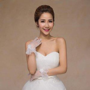 Cheap luvas nupciais festa de casamento curta dança luvas luvas de noiva barato nupcial melhor visibilidade h sqcppb