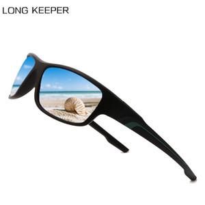 LongKeeper 2020 Marco exterior conducción Sombras Hombre Gafas de sol Negro vendimia gafas de sol polarizadas de los hombres de los deportes Eyewear UV400