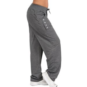 Womens Casual Pants Loose Baggy Sweatpants Sportswear Ladies Harem Trousers Long Pants Jogger Plus Size 5XL Home