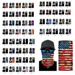 79styles magischen Kopftuchs Bandana Designer Sport Masken SEA Schal Breath schweißabsorbierendem Außen YYA401 Ansatz-Schablone Gesichts-Abdeckung SHIPPIN Vlon