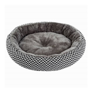 Soft Plush Round Mats Cat Bed Warm Winter Puppy Stain Resistant Cushion Small Dog House Pet Beds for Dogs Cats Sleep 201223