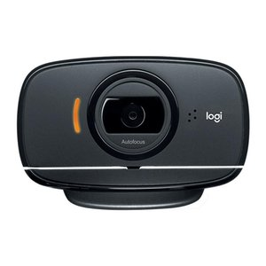 B525 360 Degrees Rotation Auto Focus Foldable HD 1080P Webcam, Built-in Noise-cancelling Microphone