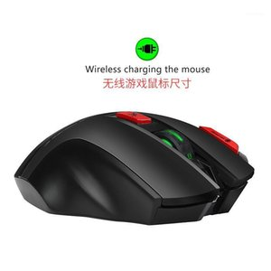 New Style Macro Programming Wireless Gaming Mouse Support 7 Key Macro Programming Colorful Shining Rechargeable 2.4G Wireless Mo1