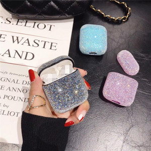 Hot Selling Compact Glitter Luxury For Airpods Case Shining Diamond Lovely Bling Airpod Case For Airpods 12 &3