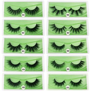 Wholesale Eyelashes For Makeup Tools Natural Long Soft Daily Wear False Eyelash Reusable Fluffy Fake Lashes