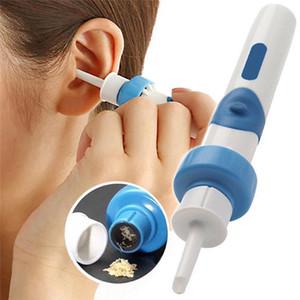 Электрические Аккумуляторный Безопасный вибрации безболезненное Вакуумный Ear Wax Pick уборщик Remover Спиральный Ear-Очистка устройства Dig Wax Earpick gyuj