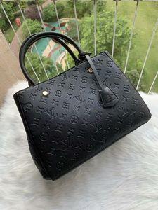 Genuine Leather High Quality Women Messenger Bag Handbag Purse Tote Brand Designer Designer