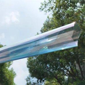 Sunice 65٪ VLT السيارات سيارة المنزل نافذة فيلم الحرباء قوس قزح تأثير الطاقة الشمسية تينت التحكم في الحرارة المضادة للأشعة فوق البنفسجية الخصوصية واقية سيارة احباط 1