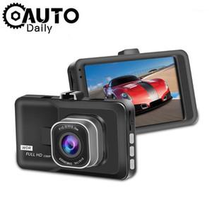 سيارة DVR 3.0 Full HD 1080P Dashcam Vehicle Camera تسجيل فيديو مسجل السيارات وقوف السيارات مراقب الحركة كاشف كاميرا الفيديو 1
