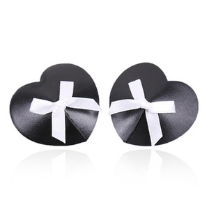 Intimates Accessories Women Sexy Nipple Covers Breast Petals Black Bowknot Lover Gift Christmas Cover Pasties Bra