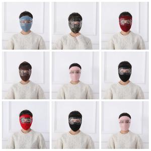 1pc nero rosso inverno nuovo occhiali maschera maschera viso maschera esterna equitazione calda polarizzatore a doppio strato a doppio strato freddo GWF4941