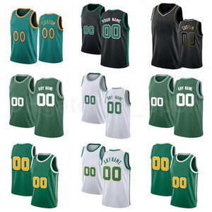 Screen Print Basketball Tacko Fall Jerseys Daniel Theis Brad Wanamaker Carsen Edwards Williams Robert Williams City Fertig