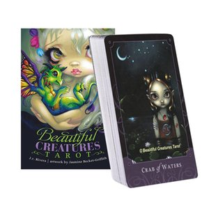 2020 53pcs Tarot Card Dream Oracle Cards With Full English Guidebook Creative Friend Party Entertainment Board Game New Arrival yxlsOa