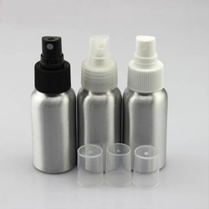 30pcs lot 50ml aluminum bottle packing extrusion toner proof cover spray