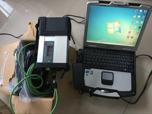 Super MB Star C5 SD Connect diagnostic tool with newest software 2020.09 HDD with cf30 Toughbook laptop CF-30 multi-languages