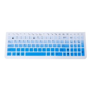 لوحة المفاتيح غطاء لوحة المفاتيح فيلم حامي الجلد الدفتري حماية سيليكون لشركة آسوس أجهزة الكمبيوتر المحمول K50 ملحقات